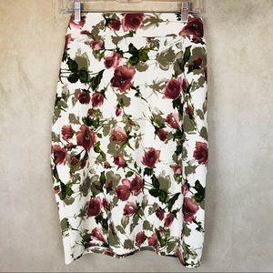 Dresses & Skirts - Dani's Closet   Pencil Skirt   Floral   1X